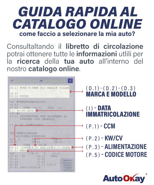 Guida al catalogo online AutoOkay